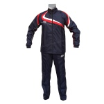 Shiv Naresh Navy-Blue / Red Wind Cheater TrackSuit
