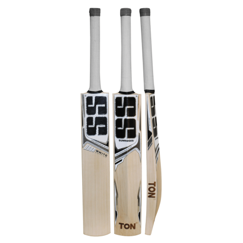 SS White Edition Gray English Willow Cricket Bat