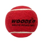 Woods Double Power Cricket Tennis Ball - Heavy, Pack of 12