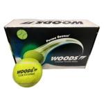 Woods Cricket Tennis Ball - Lite, Pack of 12