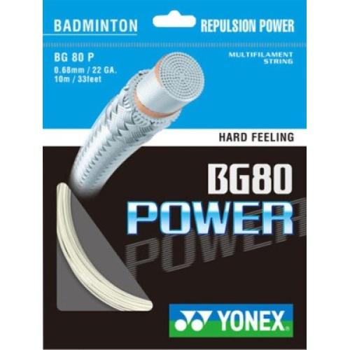 Yonex BG 80 Power Badminton Strings - Assorted