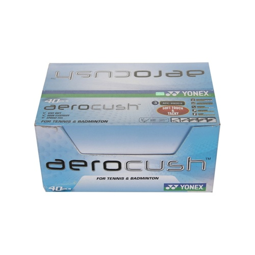 Yonex AeroCush 9900 Grip, 40 Grips  Box (Assorted)