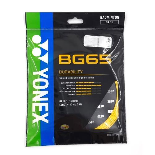 Yonex Badminton Strings BG 65