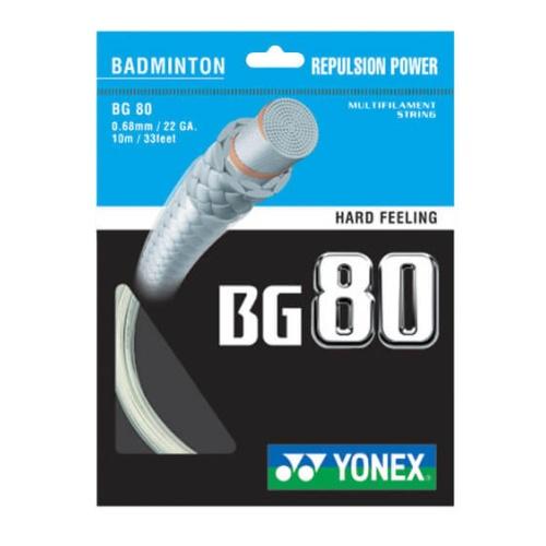 Yonex BG 80 Badminton Strings - Assorted
