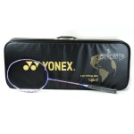 Combo: Yonex Duora 10 LCW Rio Limited Edition Badminton Racket with Aeroclub TR, Nanogy 99 and Towel Grip
