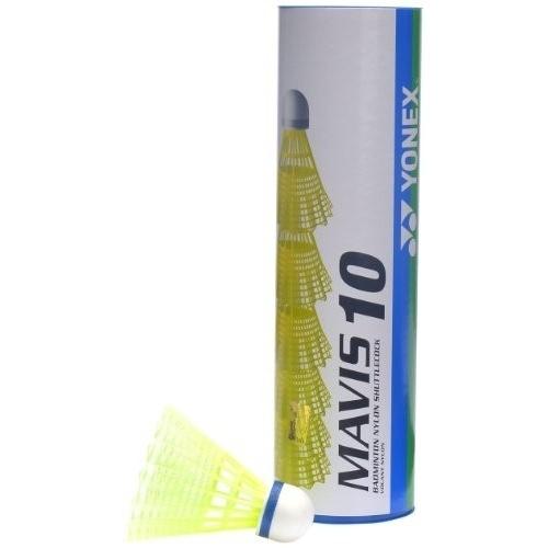 Yonex Mavis 10 Blue Cap Shuttlecock - Yellow