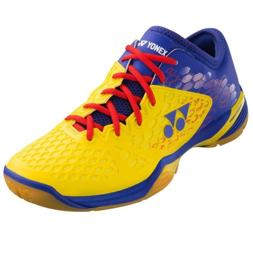 Yonex SHB 03ZM - LCW Badminton Shoes - Yellow/Blue