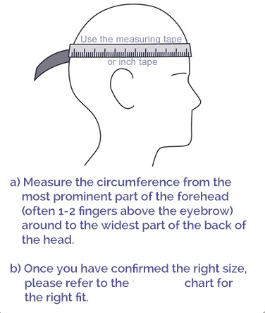 how to measure helmet size