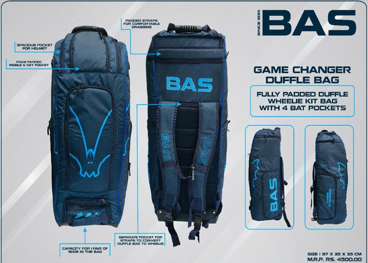 bas game changer duffle kitbag details