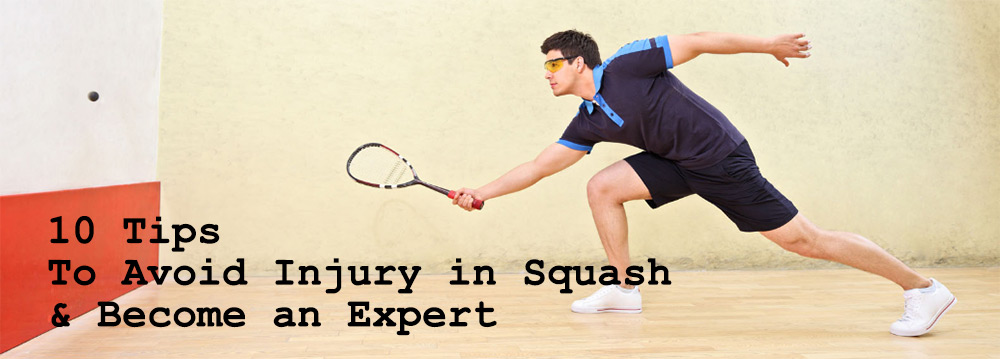 tips to avoid squash game injury
