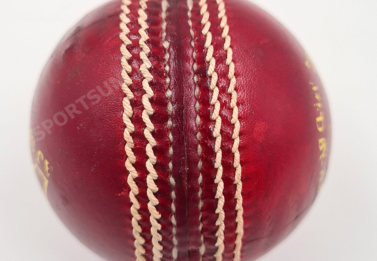 cricket ball seam