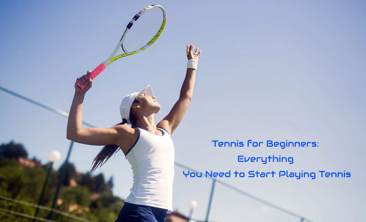tennis for beginners women playing tennis