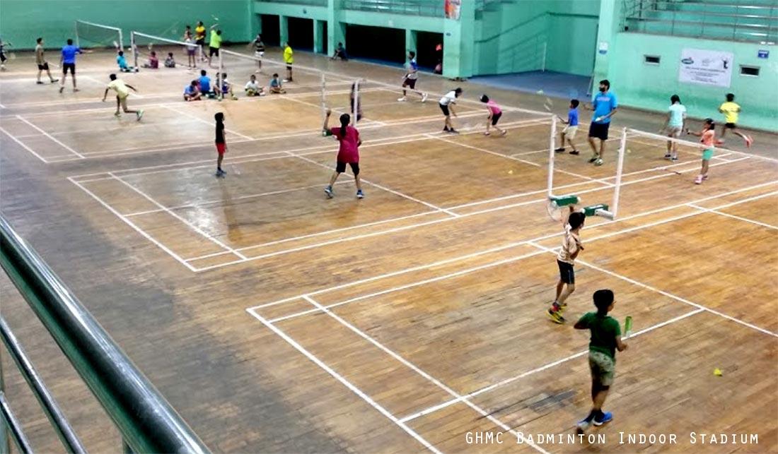 GHMC Badminton Indoor Stadium