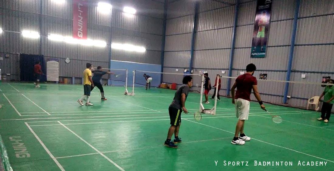 Y Sportz Badminton Academy