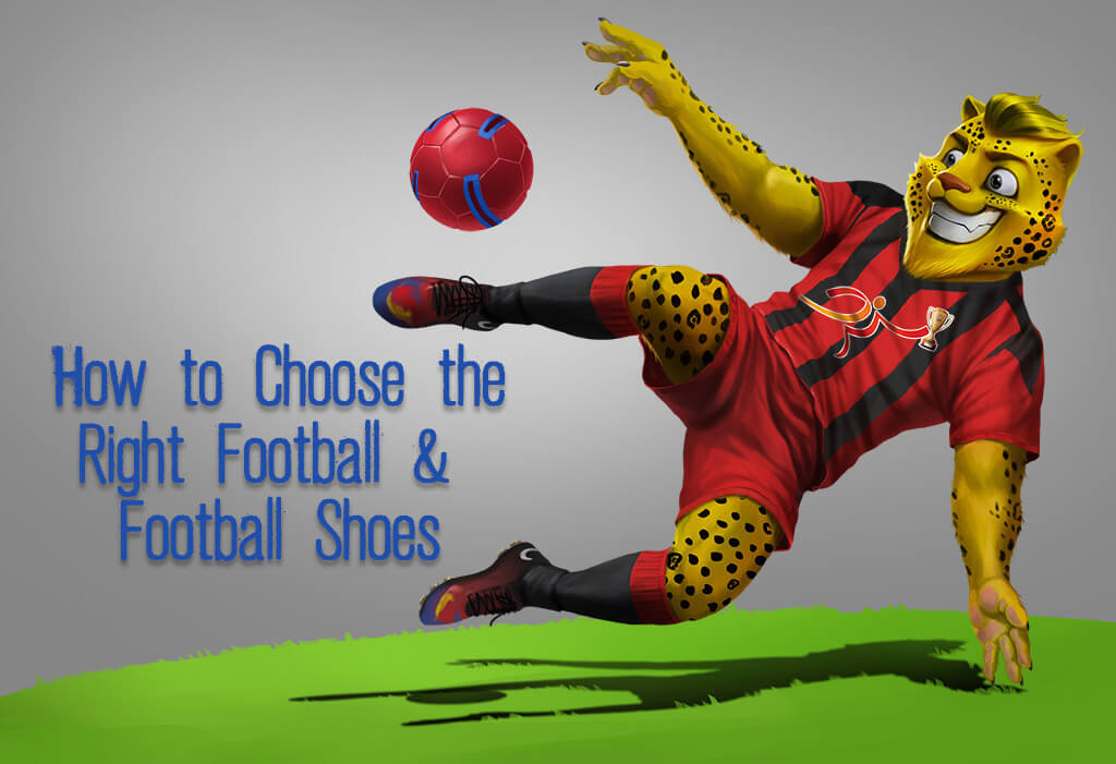 aafa850b60d4 How to Choose the Right Football Ball and Football Shoes