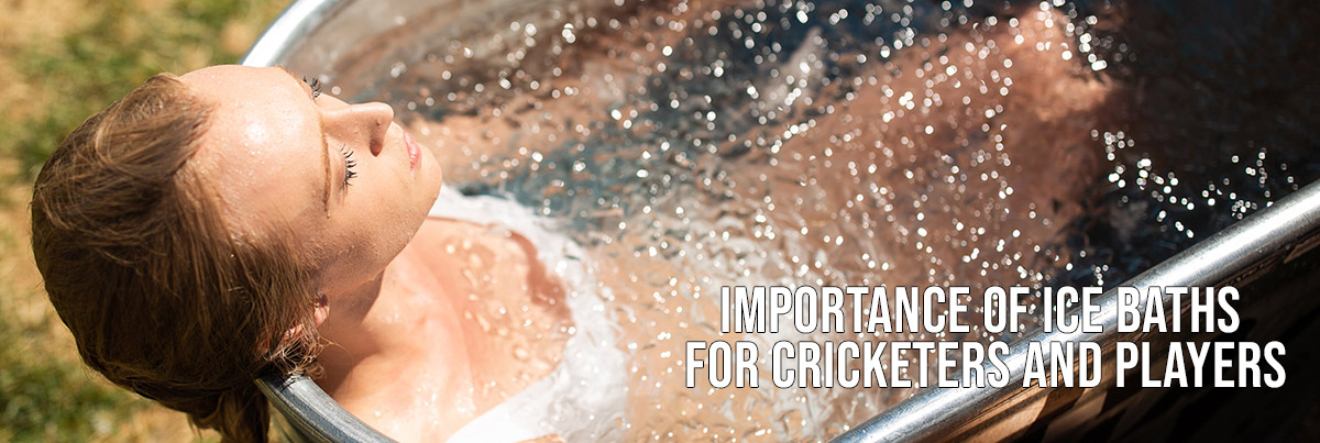ice bath for cricketers
