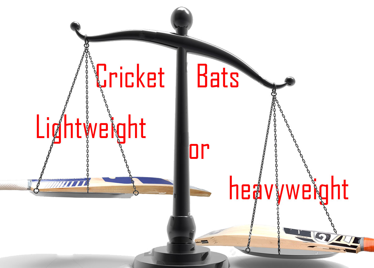 lite or heavy which cricket bat to choose