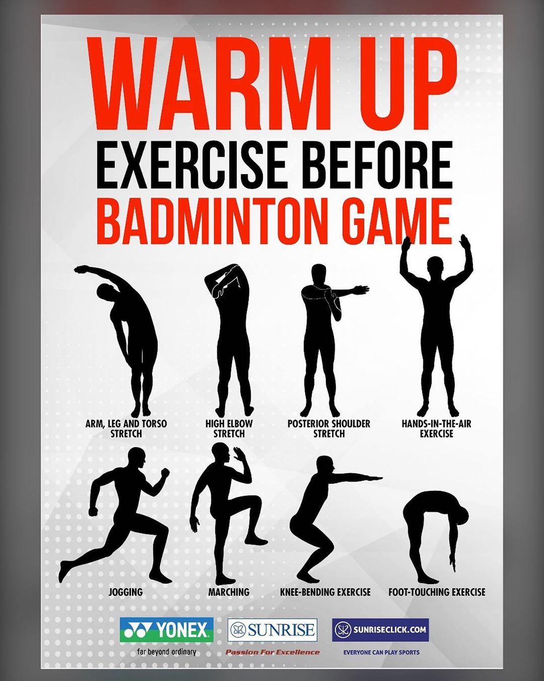warm up exercise