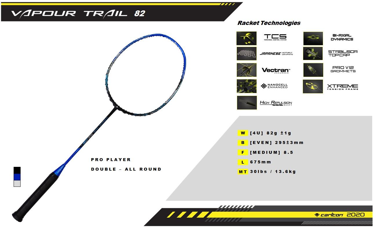 vapour trail 82- specifications