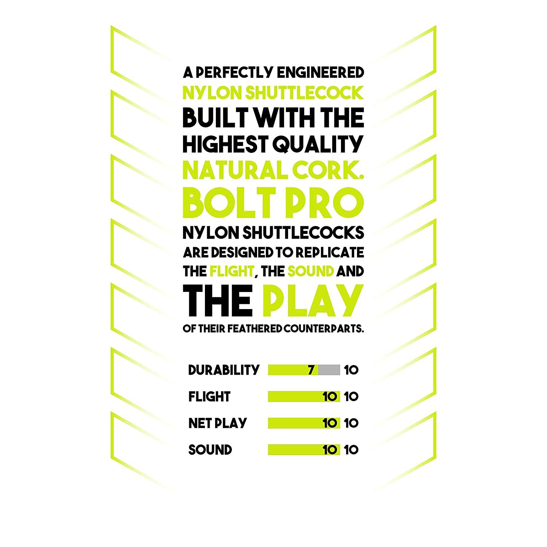 bolt pro shuttle durability in game