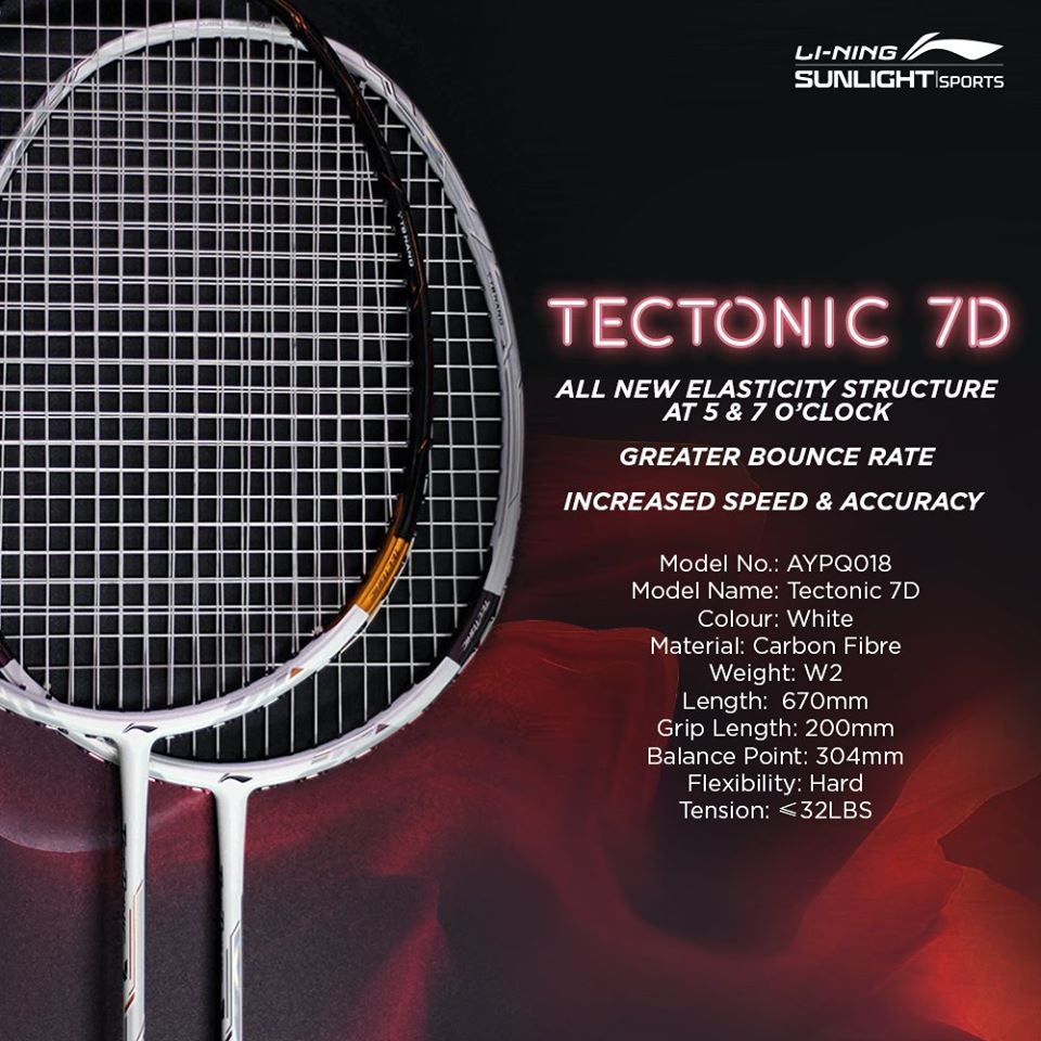 tectonic 7d specifications