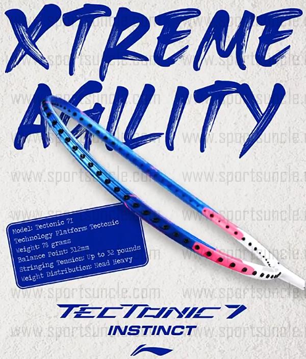tectonic 7i badminton racket