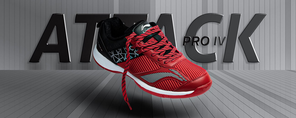 attack pro 4 red color shoes