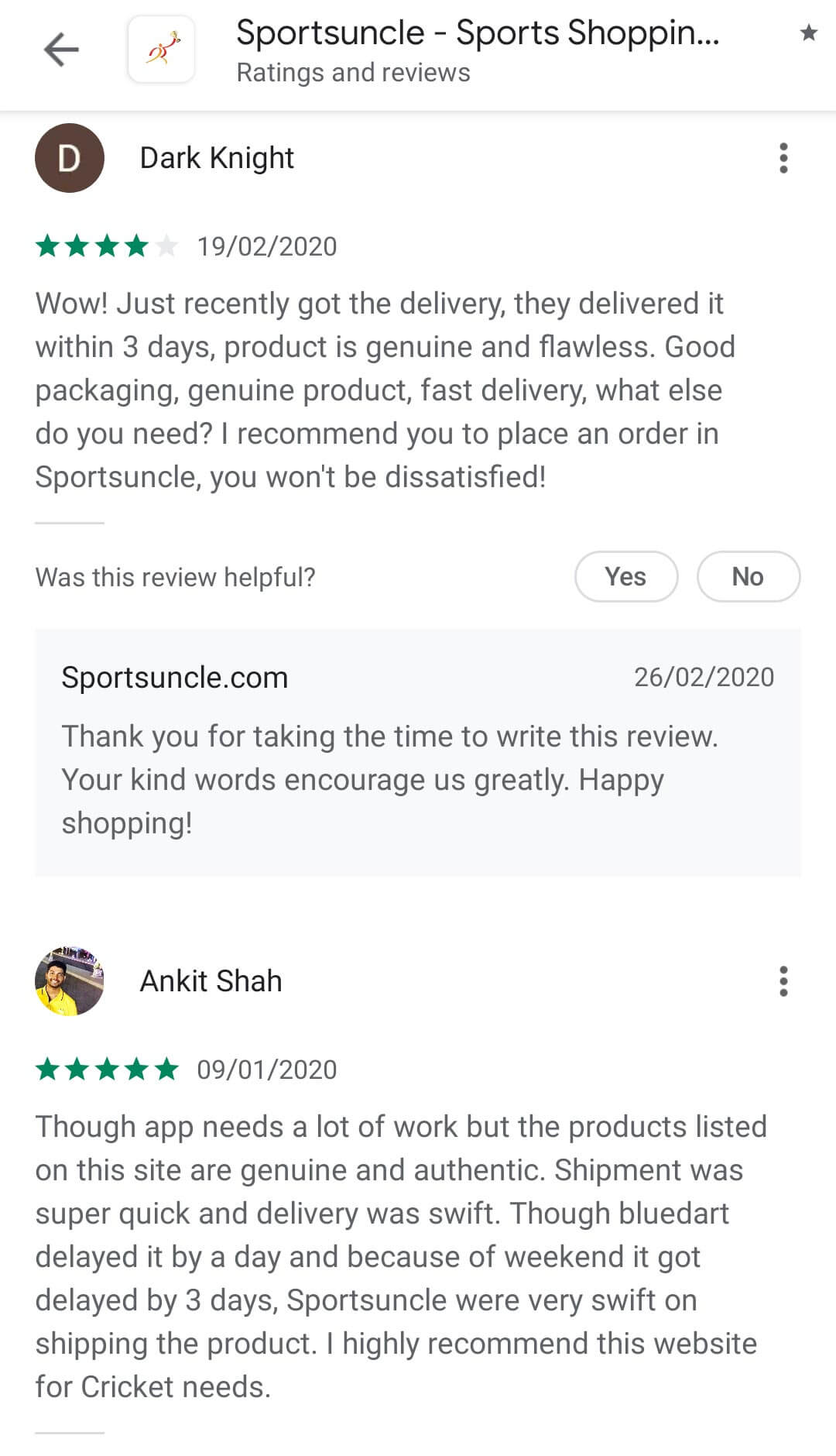 sportsuncle reviews