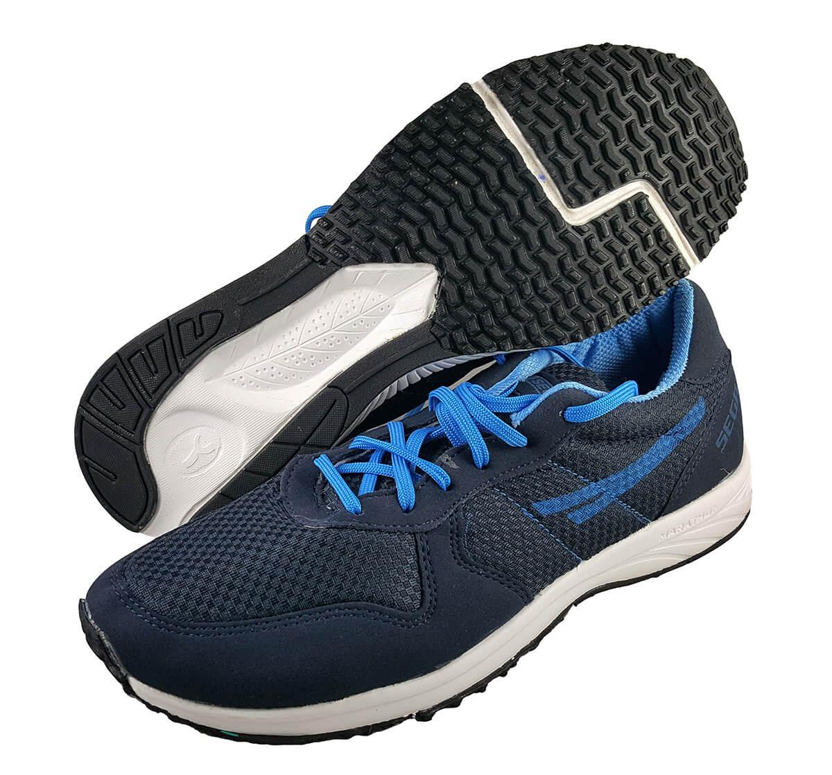Sega New Blue Marathan Running Shoes