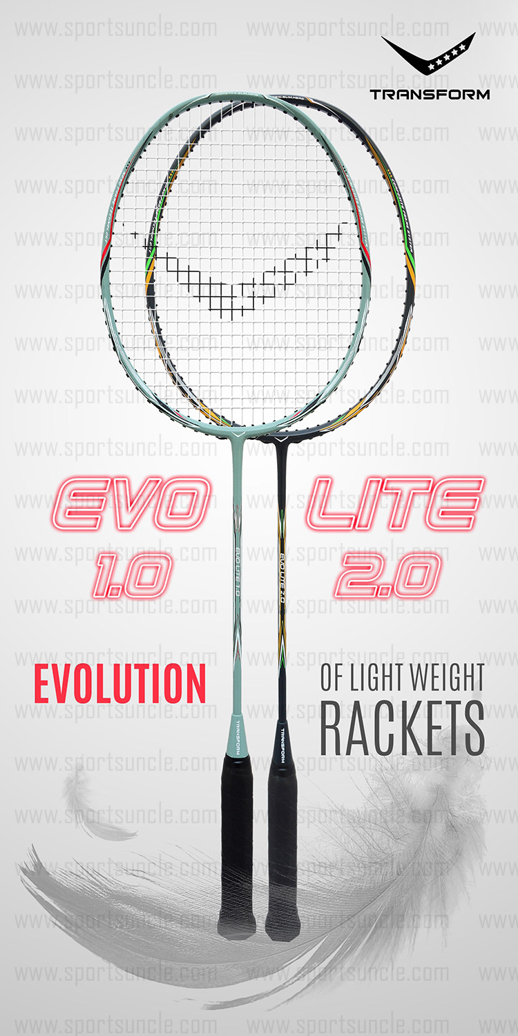 evolution of lighter rackets