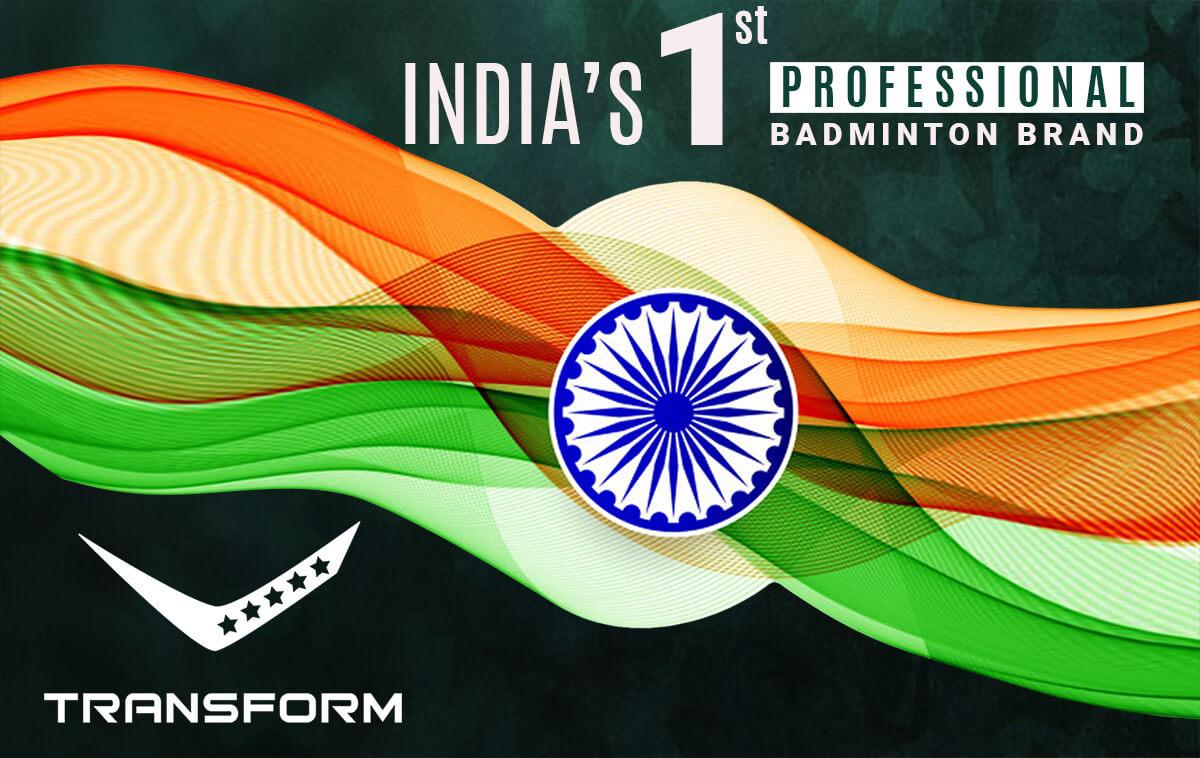 transform badminton made in india