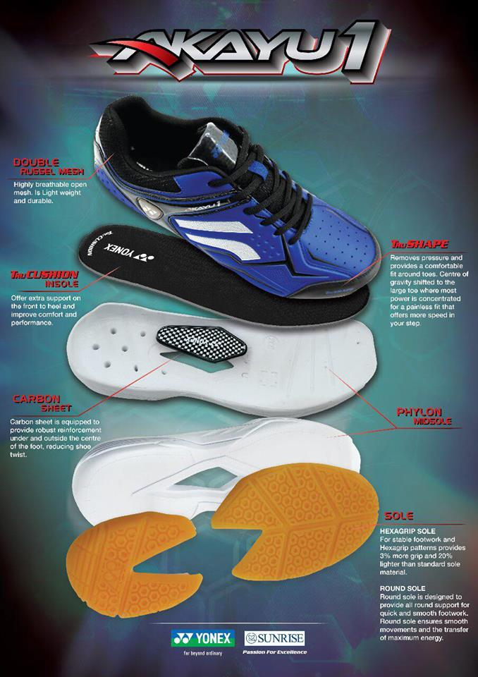 akayu1 badminton shoes